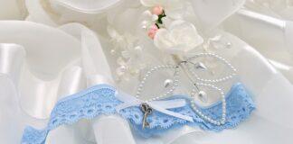 podwiązka wesele