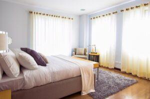 dywan w sypialni